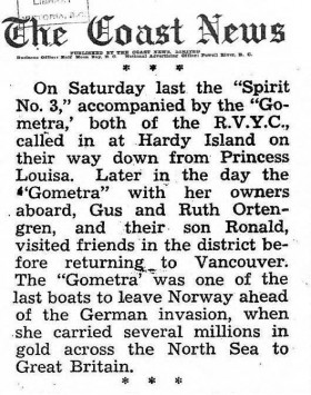 "Article ""The Coast News"" August 9, 1946 - Gometra1925"